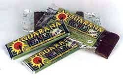 Guarana chocolate bars